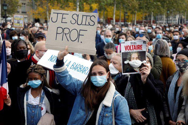 profesor francés asesinado por defender libertad de expresión